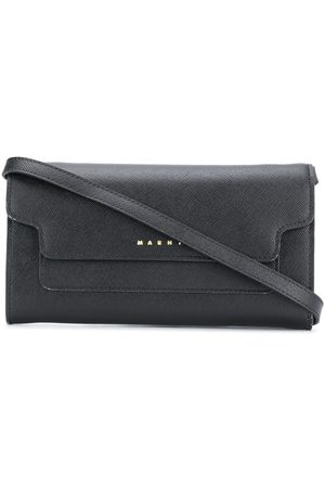 Marni Women Clutches - Logo-lettering flap clutch