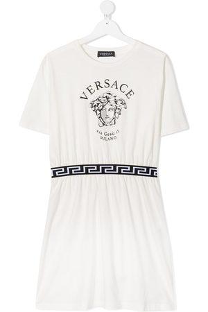 VERSACE Girls Casual Dresses - Medusa-print dress