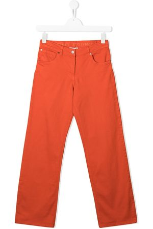 Stella McCartney Girls Straight - Straight-leg denim jeans