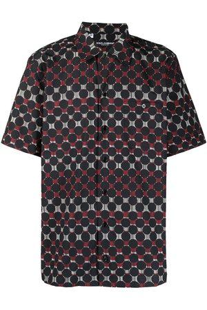 Dolce & Gabbana Buttoned-up graphic-print shirt