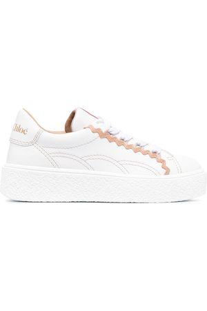 See by Chloé Low-top lace-up sneakers