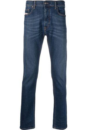 Diesel Mid-rise slim-cut jeans