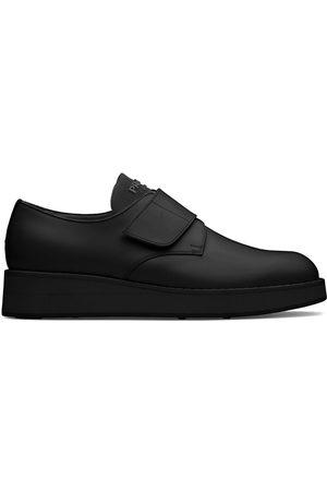 Prada Brushed-effect Derby shoes