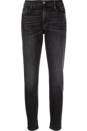 Frame Cropped mid-rise jeans