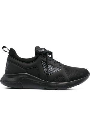 EA7 Mesh-panelled neoprene sneakers