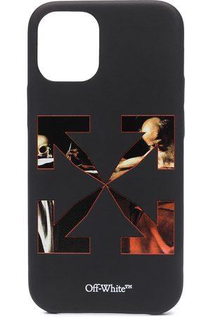 OFF-WHITE Caravaggio print iPhone 12 Mini case