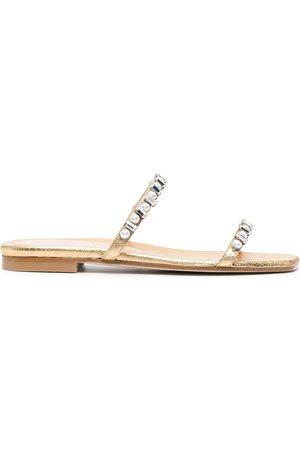 Stuart Weitzman Embellished straps sandals