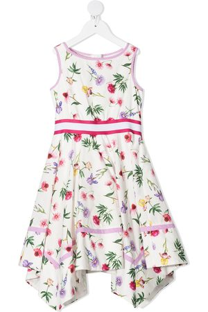 MONNALISA Floral print asymmetric dress