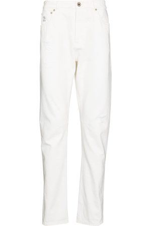 Brunello Cucinelli Five-pocket straight-leg jeans