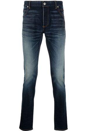 Balmain Slim-fit faded jeans