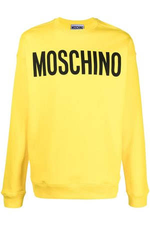 Moschino Men Sweatshirts - Logo-print long-sleeve sweatshirt