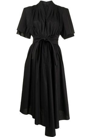 ADAM LIPPES Women Dresses - Gathered symmetric hem dress
