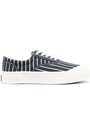 Good News Men Sneakers - Striped low sneakers