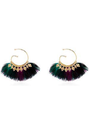 Gas Bijoux Buzios feather earrings