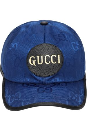 Gucci Men Caps - Off The Grid Nylon Baseball Cap