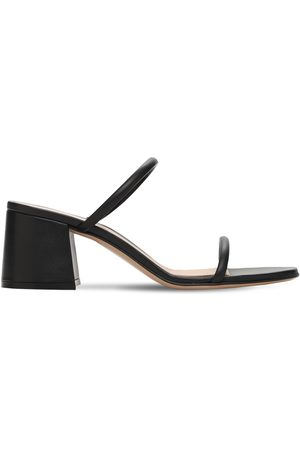 Gianvito Rossi 60mm Byblos Leather Sandals