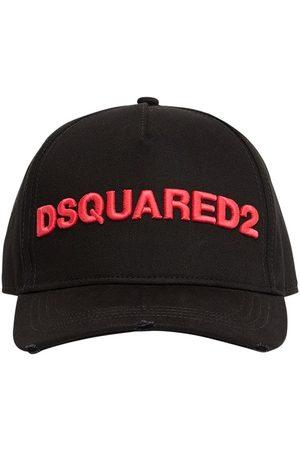 Dsquared2 Logo Gabardine Baseball Cap