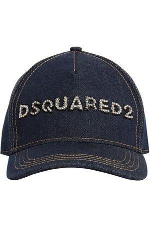 Dsquared2 Embellished Logo Baseball Cap