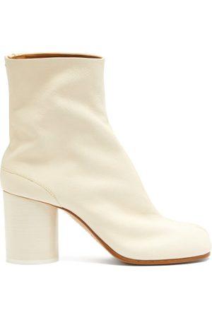 Maison Margiela Tabi Split-toe Vintage-leather Ankle Boots - Womens