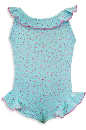 Florence Eiseman Baby Girl's Mini Floral Print One-piece Swimsuit - - Size 18 Months
