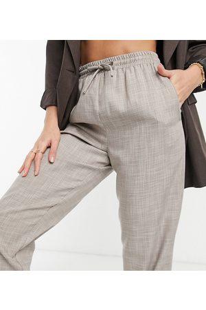 ASOS ASOS DESIGN Tall textured suit sweatpants