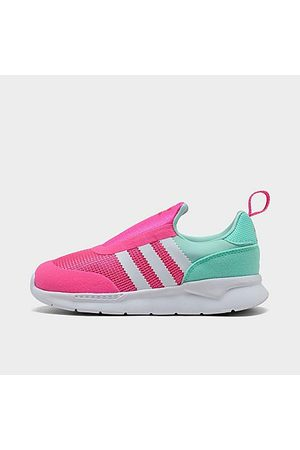 adidas Girls' Toddler Originals ZX 360 1 Slip-On Casual Shoes