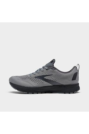 Brooks Men's Revel 4 Running Shoes in Grey Size 8.5 Knit