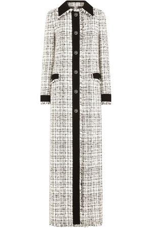 Dolce & Gabbana Women Coats - Tweed boucle buttoned maxi coat