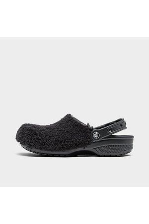 Crocs Classic Fuzz Mania Clog Shoes in Size 4.0 Fur