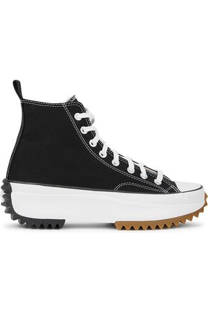Converse Run Star canvas hi-top sneakers