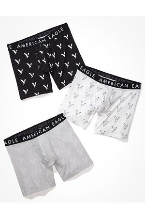 American Eagle Outfitters O 6 Classic Boxer Brief 3-Pack Men's M