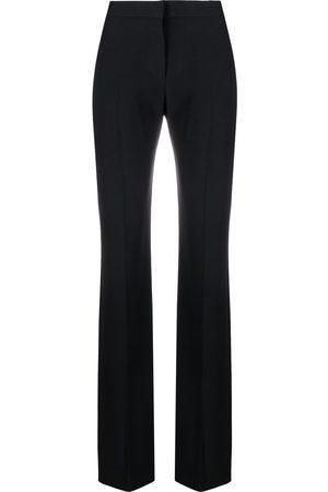 Alexander McQueen High-waist straight trousers