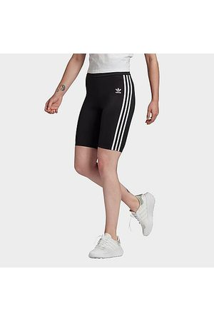 adidas Women's Originals Primeblue High Waisted Short Tights in Size X-Small Plastic