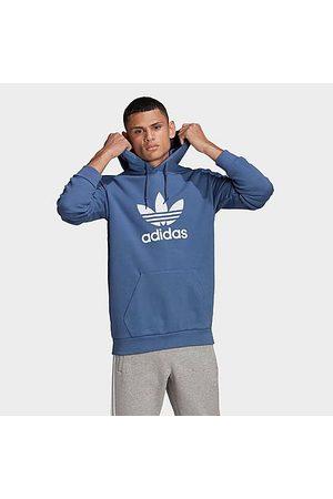 adidas Men's Originals Trefoil Hoodie in /Crew Size Small Cotton/Jersey