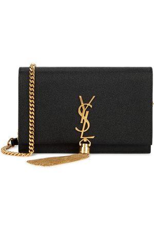 Saint Laurent Kate leather wallet-on-chain