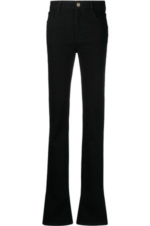 The Attico Elongated flared jeans