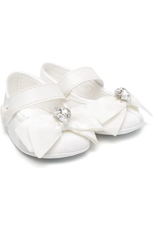 MONNALISA Bow detail hairband and ballerinas set