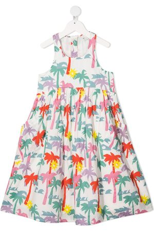 Stella McCartney Palm tree-print dress