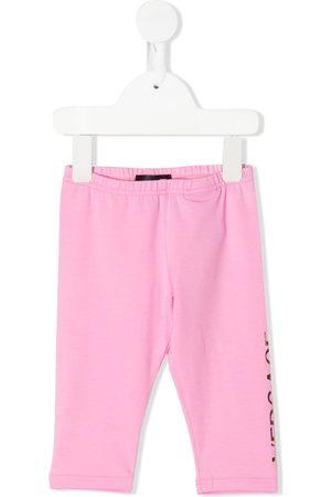 VERSACE Baby Leggings - Logo-print leggings