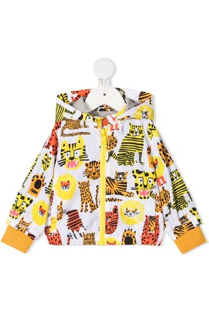 Stella McCartney Wild cat print hoodie