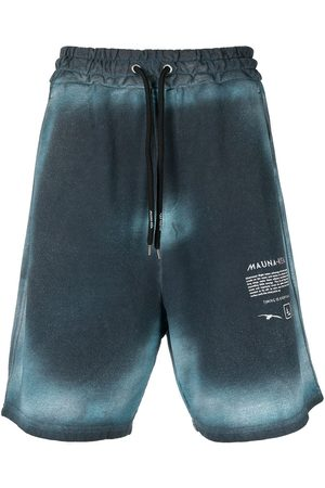 MAUNA KEA Timing is Everything knee-length track shorts