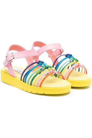 Stella McCartney Knotted rainbow sandals