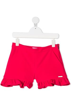 Msgm Ruffle-trim shorts