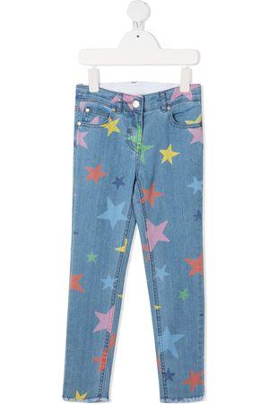 Stella McCartney Star-print skinny jeans
