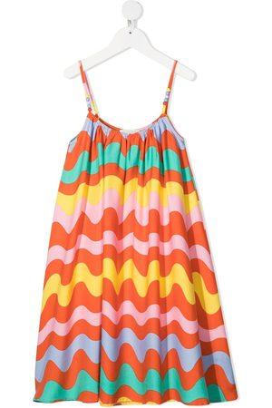 Stella McCartney Girls Casual Dresses - Swiggle-print dress