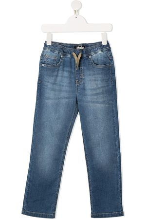 Molo Augustino mid-rise straight-leg jeans