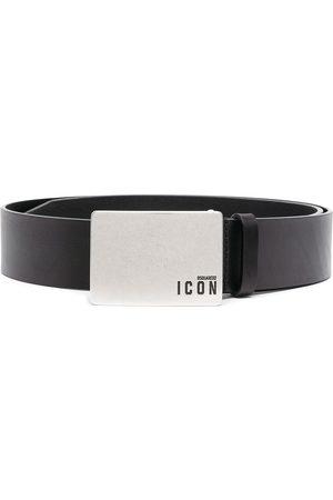 Dsquared2 Men Belts - Icon buckled leather belt