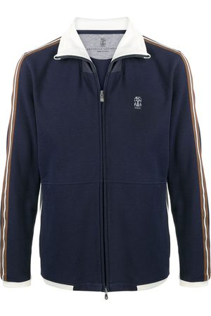 Brunello Cucinelli Side stripe track jacket