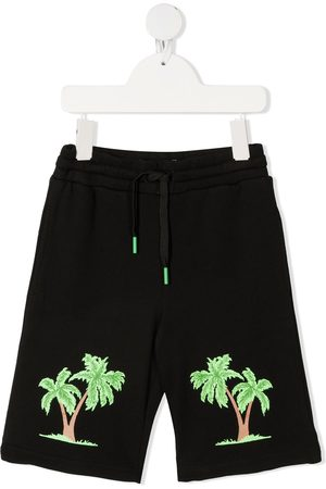 Stella McCartney Palm tree-print drawstring shorts