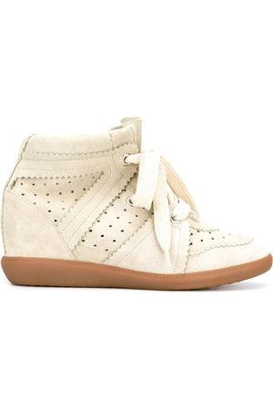 Isabel Marant Bobby wedge sneakers - Grey